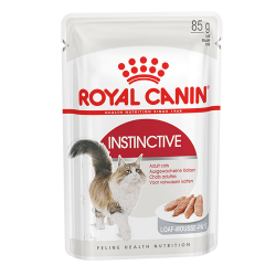 Консервы (пауч) для кошек Royal Canin Instinctive (в паштете), 85 г