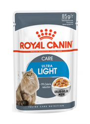 Консервы для кошек склонных к полноте Royal Canin Ultra Light (в желе) 85 г